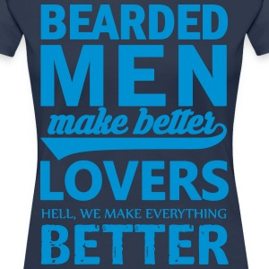 Bearded men are better lovers - Women's Premium T-Shirt