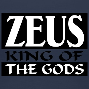 Zeus _-_ King_Of_The_Gods - T-shirt Premium Femme