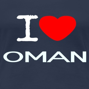 I LOVE OMAN - Women's Premium T-Shirt