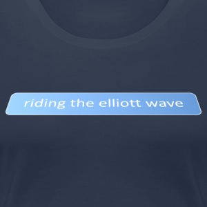 Elliott Wave - Premium T-skjorte for kvinner