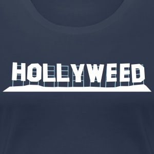 Hollyweed - Women's Premium T-Shirt