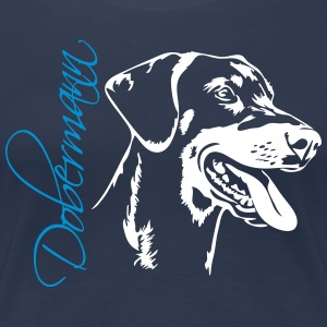 Dobermann - Doberman Pinscher - Frauen Premium T-Shirt