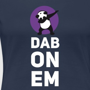 dab on Em panda dabbing Dance Football touchdown - Frauen Premium T-Shirt