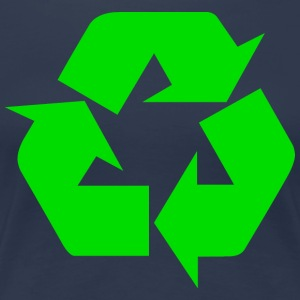 Earth Day Recycle - T-shirt Premium Femme