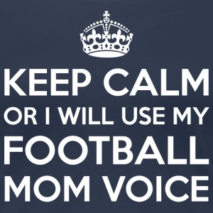 Football Mom Voix - T-shirt Premium Femme