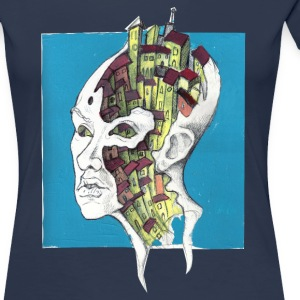 city ​​inside me - Women's Premium T-Shirt