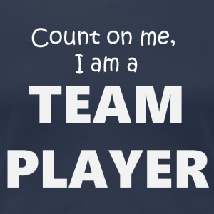 Team Player 4 (2173) - Premium-T-shirt dam