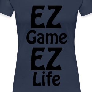 ez ez life game - Women's Premium T-Shirt