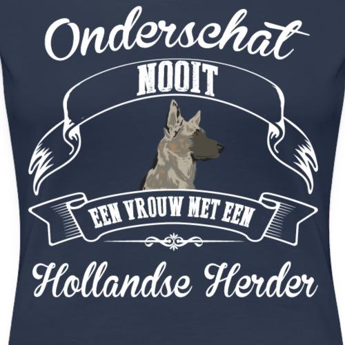 Hollandse Herder - Vrouwen Premium T-shirt