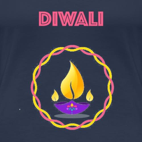 HAPPY Diwali Design - Women's Premium T-Shirt