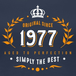 original since 1977 simply the best 40th birthday - Frauen Premium T-Shirt