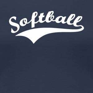 softball v2 - Frauen Premium T-Shirt