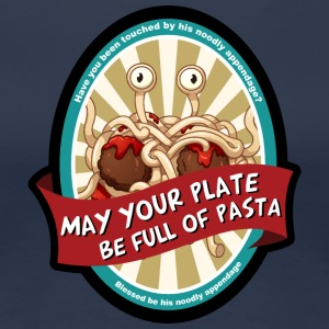 may your plate full of pasta - Women's Premium T-Shirt
