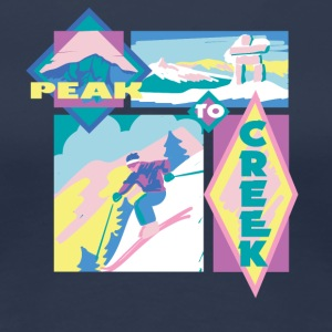 Peak to Creek - Frauen Premium T-Shirt