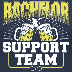 BACHELOR SUPPORT TEAM - Dame premium T-shirt