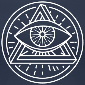 Eye of Providence - Optical Illusion - Premium T-skjorte for kvinner