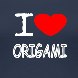 I LOVE ORIGAMI - Women's Premium T-Shirt