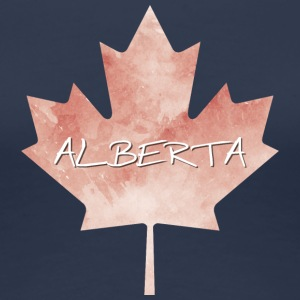 Alberta Maple Leaf - Premium T-skjorte for kvinner