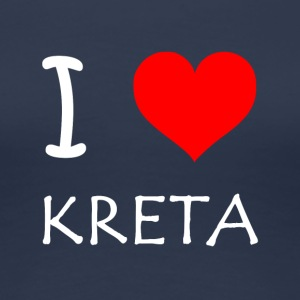 I Love Crete - Women's Premium T-Shirt