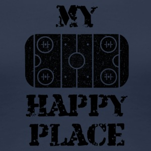 My Happy Place - Dame premium T-shirt