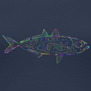 Glowfish - Vrouwen Premium T-shirt