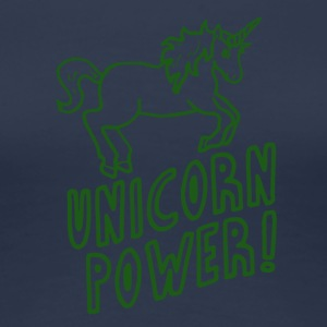 Unicorn - Power! - T-shirt Premium Femme