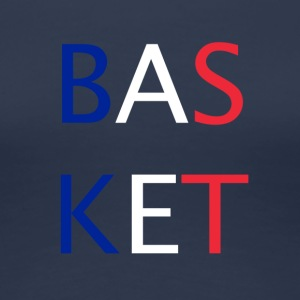 BASKETBALL - Premium T-skjorte for kvinner