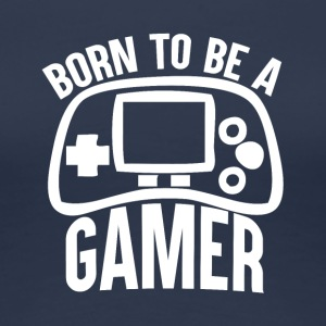 Gamer - Born to spill - Premium T-skjorte for kvinner