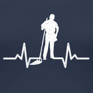 My heart beats for the nursery - Women's Premium T-Shirt