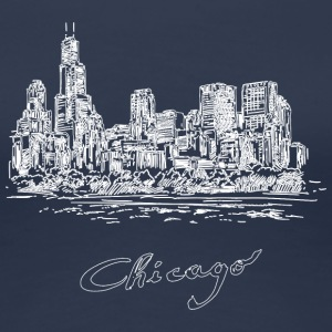 Chicago City - United States - Women's Premium T-Shirt