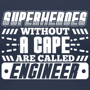 SUPERHEROES ENGINEER - Frauen Premium T-Shirt