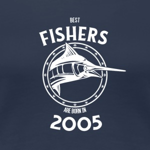 Present for fishers born in 2005 - Women's Premium T-Shirt