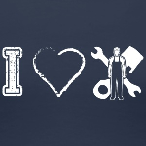 I love Mechaniker Mechanikerin - Frauen Premium T-Shirt