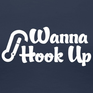 Rock Climber Vill Hook Up - Premium-T-shirt dam