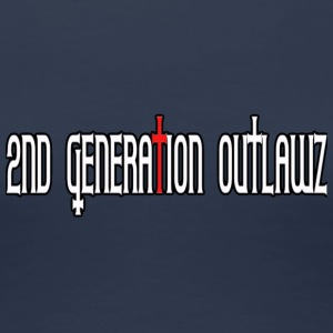 2nd Generation Outlawz / 2go - Premium-T-shirt dam