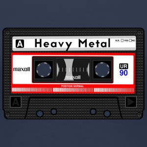 HEAVY METAL CASSETTE - Women's Premium T-Shirt
