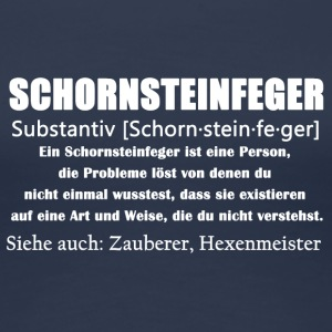 Schornsteinfeger Defitition Shirt - Frauen Premium T-Shirt