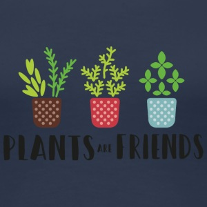 PLANTS in color - Women's Premium T-Shirt