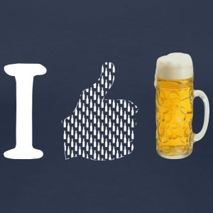 I like Bier - Frauen Premium T-Shirt