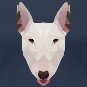 English Bull Terrier Artwork - Women's Premium T-Shirt