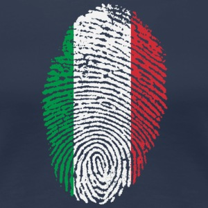 Imprint Italy / footprint Italian Flag - Women's Premium T-Shirt