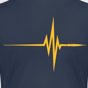 Pulse / Beat / EKG - Premium T-skjorte for kvinner