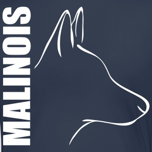 MALINOIS PROFILE - Women's Premium T-Shirt