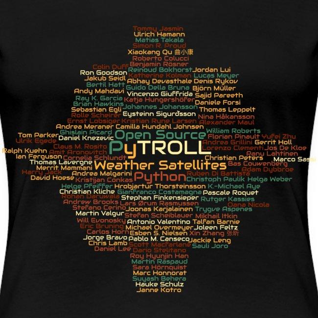 Pytroll wordcloud march 2019