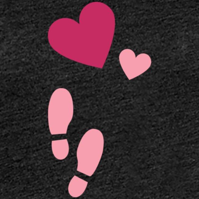 Heart & steps