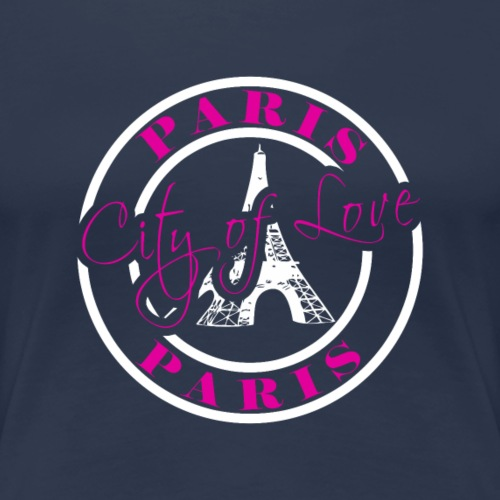 Paris City of Love - Frauen Premium T-Shirt
