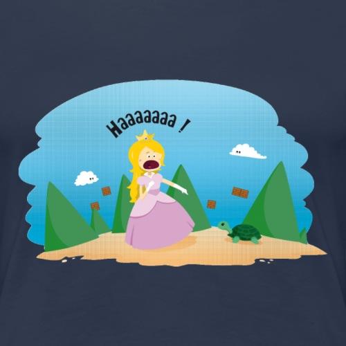 Tortue phobie - T-shirt Premium Femme