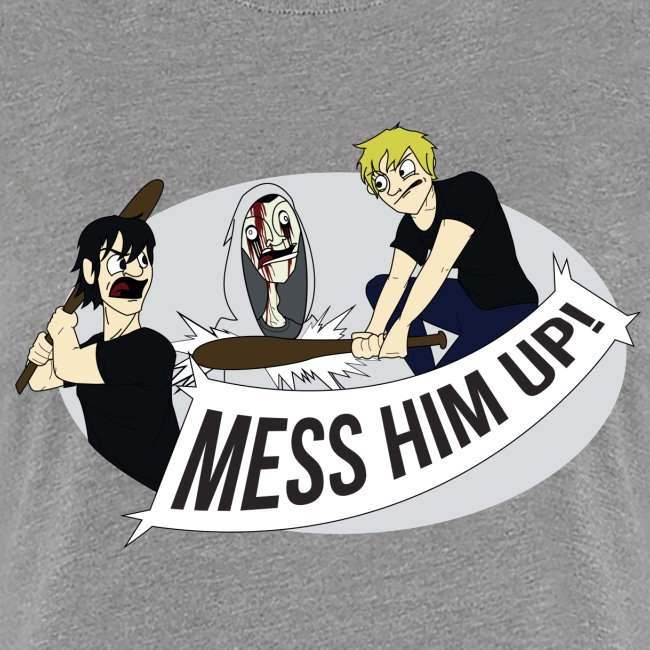 Mess Him Up Photoshop without grey shadows gif