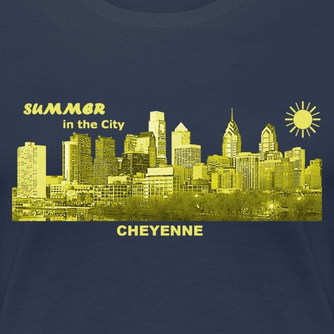 Cheyenne Wyoming City Summer Sun