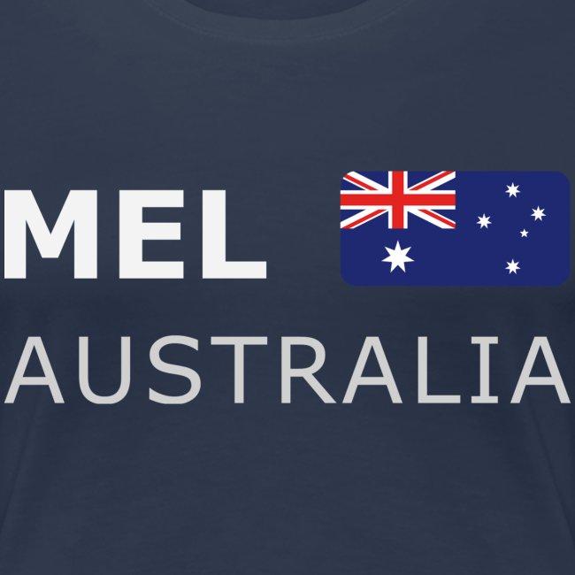 MEL AUSTRALIA white-lettered 400 dpi